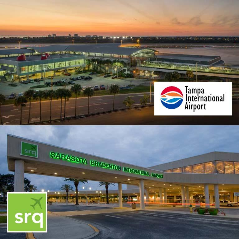 Airport Transportation Tampa TPA Sarasota SRQ