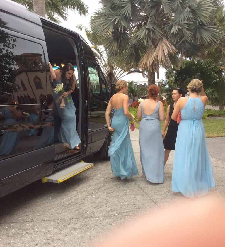 Sarasota Wedding Transportation Limousine Limo Services